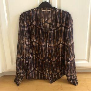 J Brand silk blouse